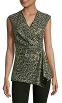 Josie Natori Sequin Sleeveless Top