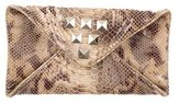 Loeffler Randall Embossed Envelope Clutch