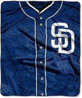 Northwest Company San Diego Padres Raschel Strike Blanket