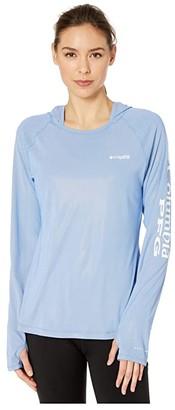 Columbia PFG Tidal Deflectortm Hoodie (Stormy Blue) Women's Sweatshirt