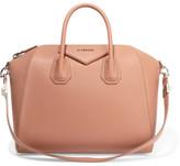 Givenchy Medium Antigona Bag In Antique-rose Textured-leather - Antique rose