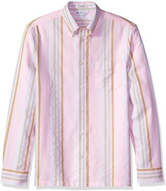 Ben Sherman Men's 60s Stripe Archive Shirt