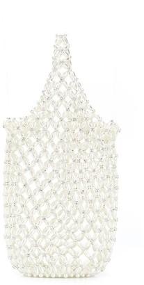 Simone Rocha Bead Embellished Tote Bag