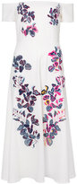 Tanya Taylor Wisteria embroidered Lottie dress