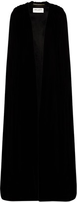 Saint Laurent Maxi Open Front Cape