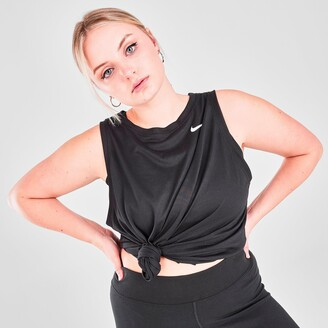 Nike Women's Dri-FIT Swoosh Training Tank (Plus Size)