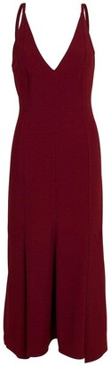 Victoria Beckham Cami Flare Midi Dress