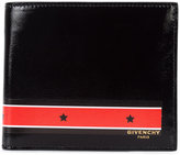 Givenchy star print billfold wallet - men - Leather - One Size