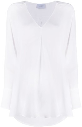 Dondup V-neck loose fit blouse