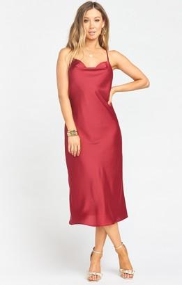 Show Me Your Mumu Verona Cowl Dress