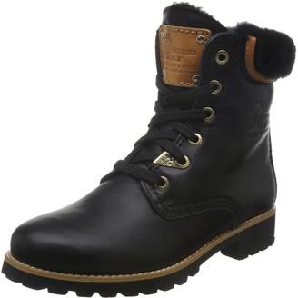 Panama Jack Women's Panama 03 Igloo Travelling Combat Boots Black (Negro B2) 3.5 UK