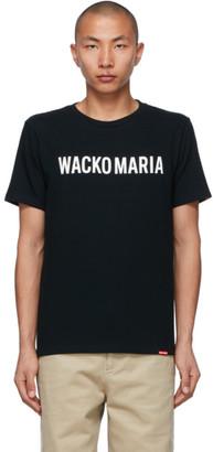 Wacko Maria Black Heavyweight Type-2 T-Shirt