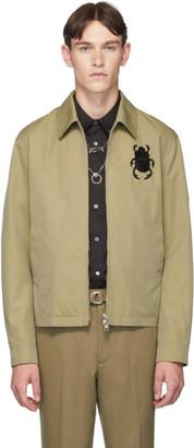 Alexander McQueen Biege Bug Jacket