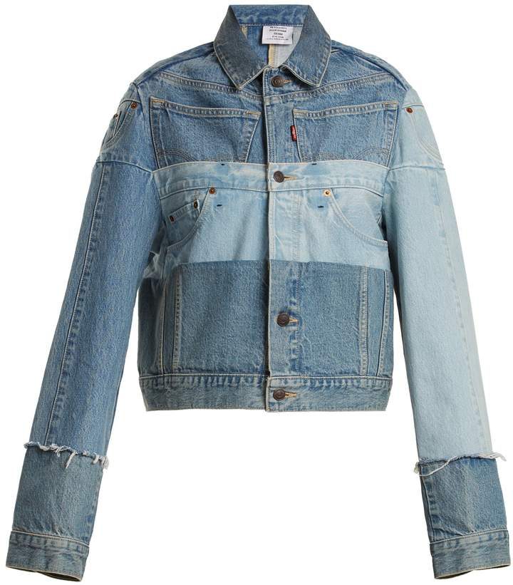 Vetements X Levi's reworked denim jacket