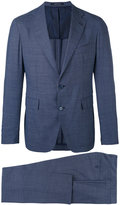 Tagliatore slim cut suit - men - Cupro/Virgin Wool - 54