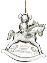 Marquis by Waterford 2016 Baby's First Christmas Ornament