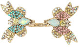 Betsey Johnson Buzz Off Butterfly Ring