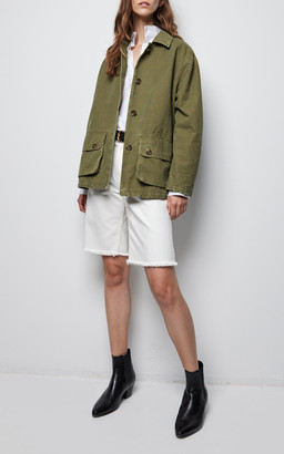 NILI LOTAN Connor Cotton Cargo Jacket