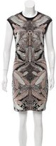 Alexander McQueen Dragonfly Patterned Dress