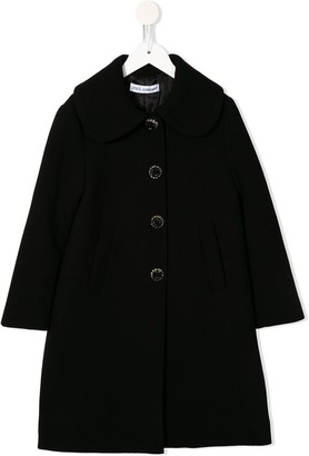 Dolce & Gabbana Single-Breasted Midi Coat