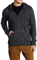 Billy Reid Zip Hooded Jacket
