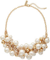 The Limited Faux Pearl Cluster Necklace