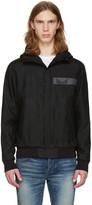Fendi Black Hooded Jacket
