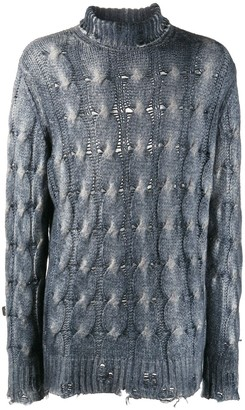 Avant Toi Cable-Knit Jumper