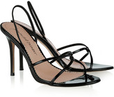 Jean-Michel Cazabat Jean Michel Cazabat Orsola patent-leather slingback sandals