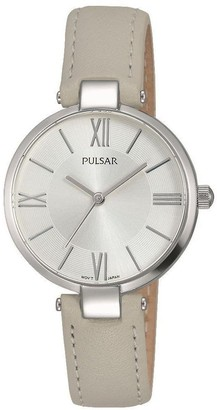 Pulsar Women's Analogue Analog Quartz Watch with Stainless Steel Strap PH8245X1