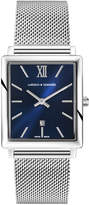 Larsson & Jennings Norse 40mm Watch Silver & Navy