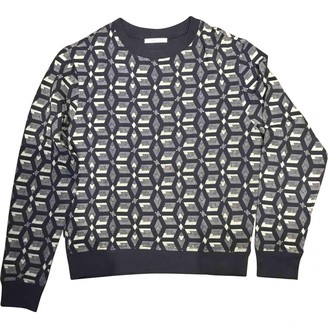 Carven Navy Cotton Knitwear & Sweatshirts