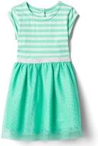 Gap Stripe tulle dress