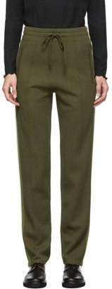 Etoile Isabel Marant Green Knit Docia Sporty Lounge Pants
