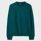 Paul Smith Men's Teal Organic-Cotton Sweatshirt