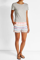 Lemlem Striped Cotton Shorts