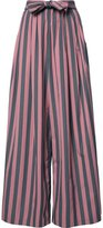 Tome 'Wide Stripe Long Karate' trousers - women - Cotton - S