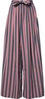 Tome 'Wide Stripe Long Karate' trousers - women - Cotton - S