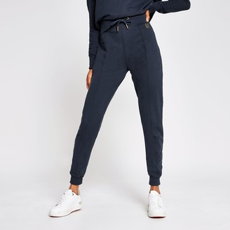 River Island Womens Dark Grey seam detail jogger