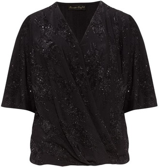 Phase Eight Ina Shimmer Wrap Top