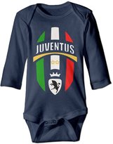 SANKA D Juventus Away Children Bodysuits Jumpsuit Onesies