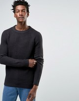 Selected Crew Neck Knitted Jumper