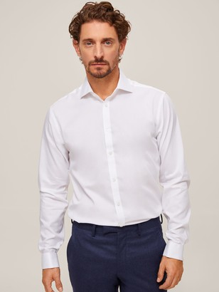 John Lewis & Partners Non Iron Twill Slim Fit Shirt