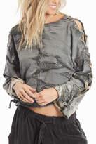 Hard Tail Lace Up Sweatshirt