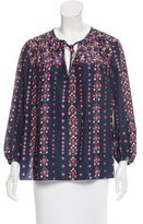 Vanessa Bruno Long Sleeve Floral Print Top w/ Tags