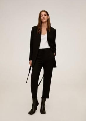 MANGO Straight suit pants black - XS - Women