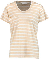 Kain Label Striped stretch-jersey T-shirt
