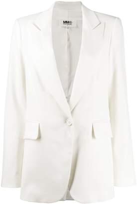 MM6 MAISON MARGIELA peaked lapel blazer