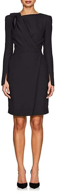 Giorgio Armani Women's Knot-Detailed Crepe Dress