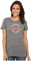 Converse Core 2 Chuck Patch Short Sleeve Crew Tee Color Heather Triblend